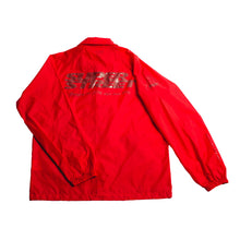 L.E. Super Street Windbreaker (Unlined) - Red/Blood Red
