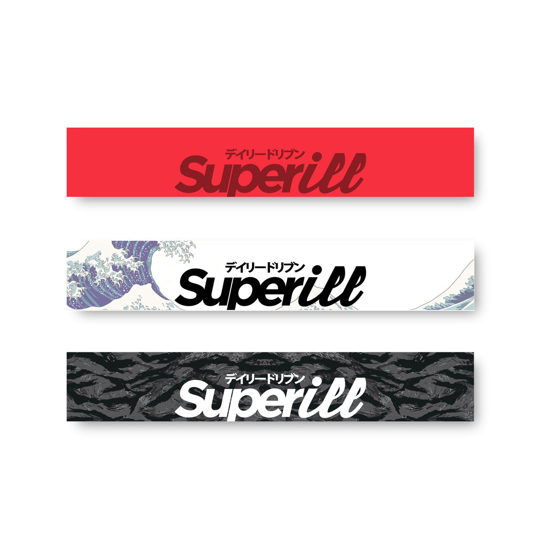 Superill Printed Windshield Banners