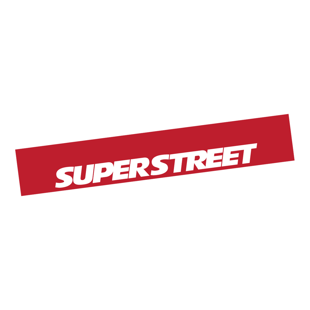 SuperStreet Window Banner