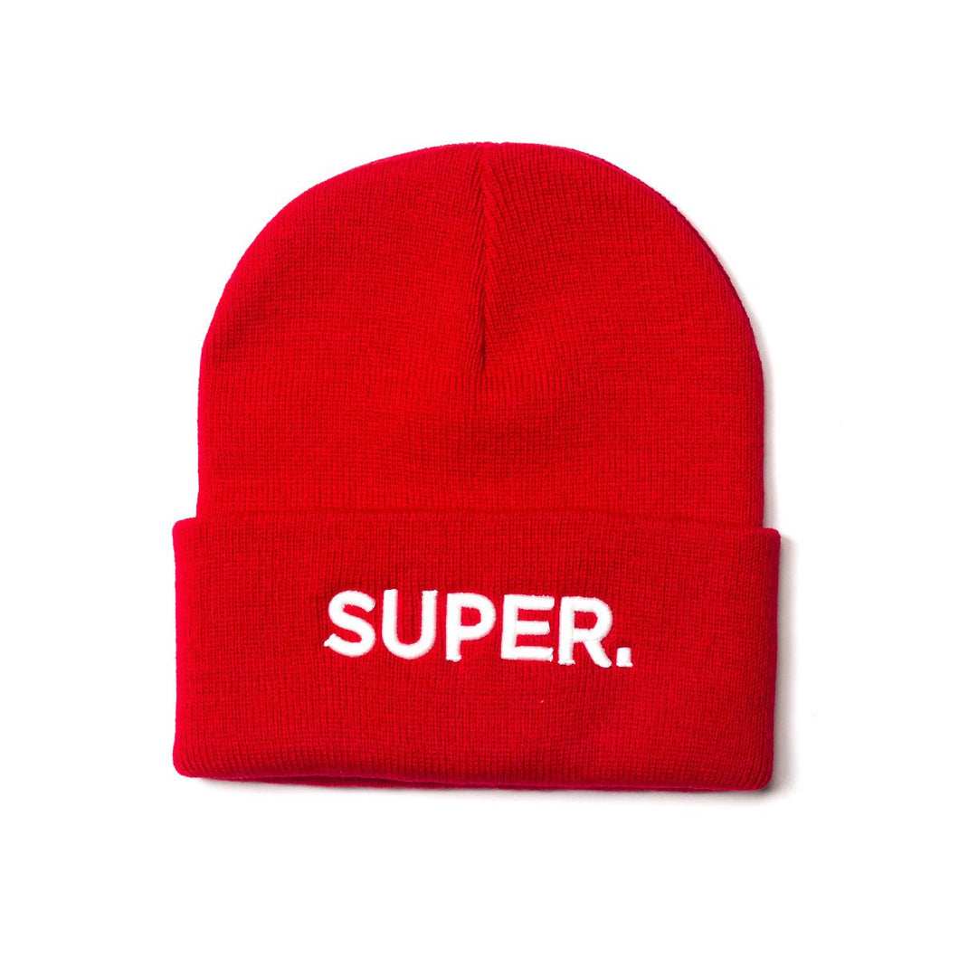 Super Beanie - Red