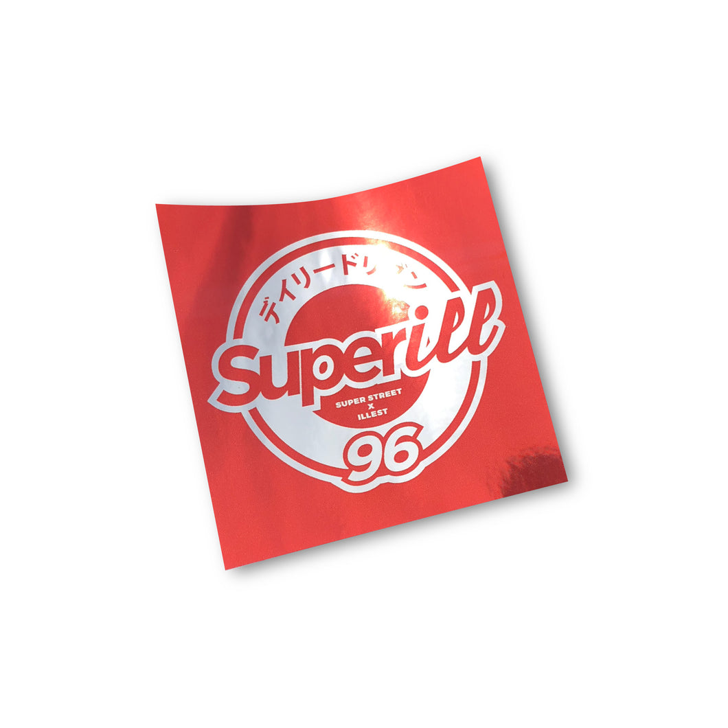 Superill Vol 3 - Chrome Red Slap