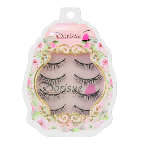 Dorisue Magnetic eyelashes Magic False Eyelashes, With Reusable lashes Each for 40 use [4 Pairs Set] E2 Magnetic lashes