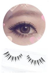 Dorisue false lash Lightweight impressive length soft False Eyelashes Natural-fashion Invisible band 10 pairs lashes pack