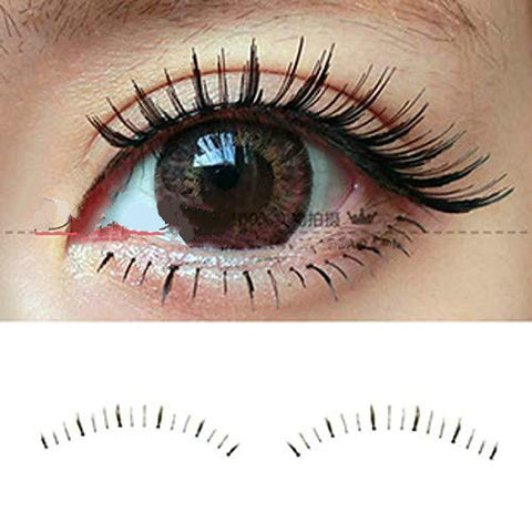 False Eyelashes (10 pairs Set) Bottom Extension False Eyelashes Lid Eye Lashes Different Styles Under Lower 07