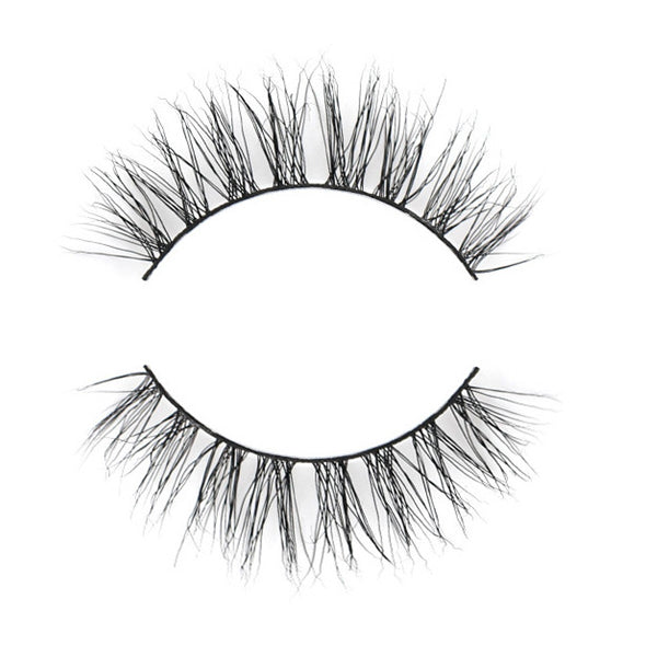 Dorisue Natural lash Beauty Faux Mink Natural Cross Eye Lashes False Eyelashes 5 pairs lash pack