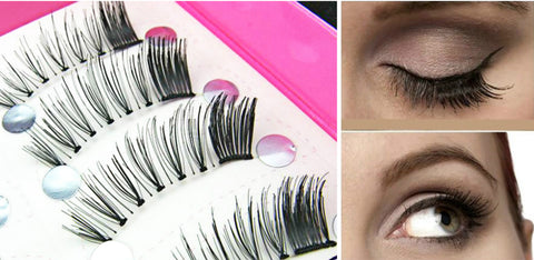 Dorisue Corner Lashes False Lashes Smoothie eyes Natural-looking lashes extensions end lashes soft winged 5 pairs lashes pack