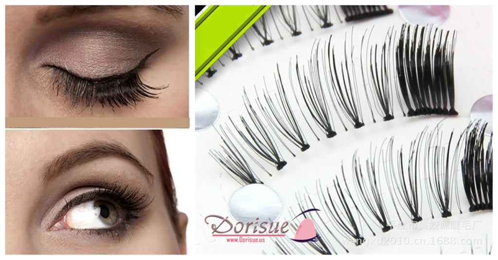 Dorisue False Eyelashes 5 Pairs Set Short Fake Eyelashes