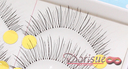 Dorisue False Eyelashes Super Natural Daily Use Like real eyelash Extensions Clear Roots Princess Fake Eyelashes Set 10 Pairs lashes set