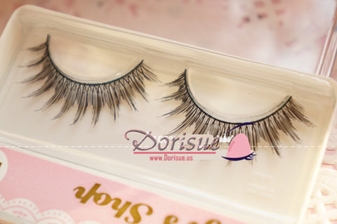 Dorisue False Eyelashes (10 Pairs Set ) False Eyelashes Natural Long Eye Lashes Handmade Thick Black Makeup Set