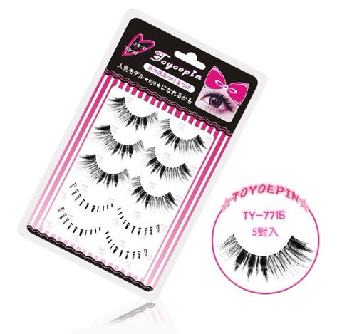 Dorisue Fake eyelashes Mix Value multipack Dramatic Upper lashes and Bottom lashes