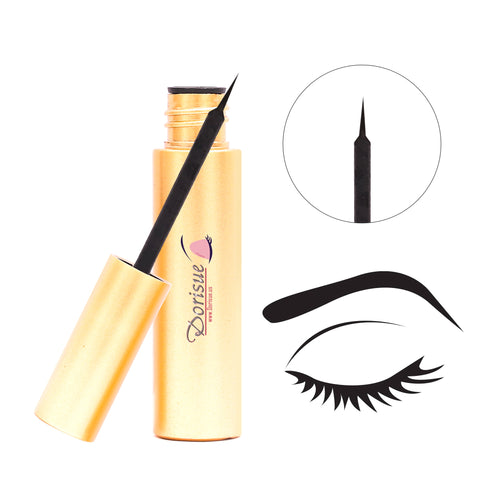 Dorisue Magnetic Eyeliner Instead of Glue Magic Eyeliner Extra Strong Hold for False Eyelashes