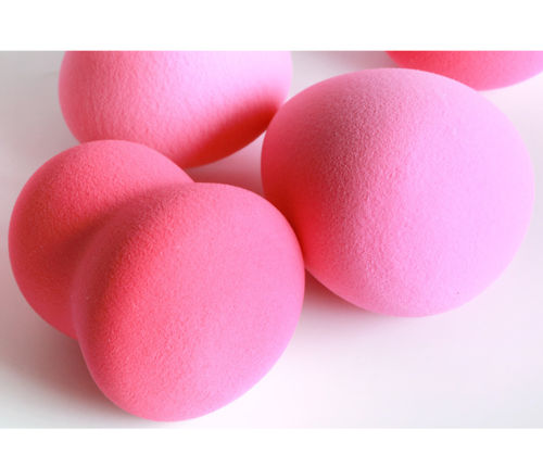(3 Pcs Set) 2 in 1 Flawless Makeup Blender Foundation Puff Multi Shape Sponges