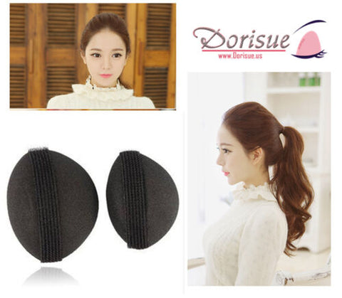 Dorisue Charming BUMP IT UP Volume Inserts 2P Big and small hair styler Insert Tool Hair Comb Black colors