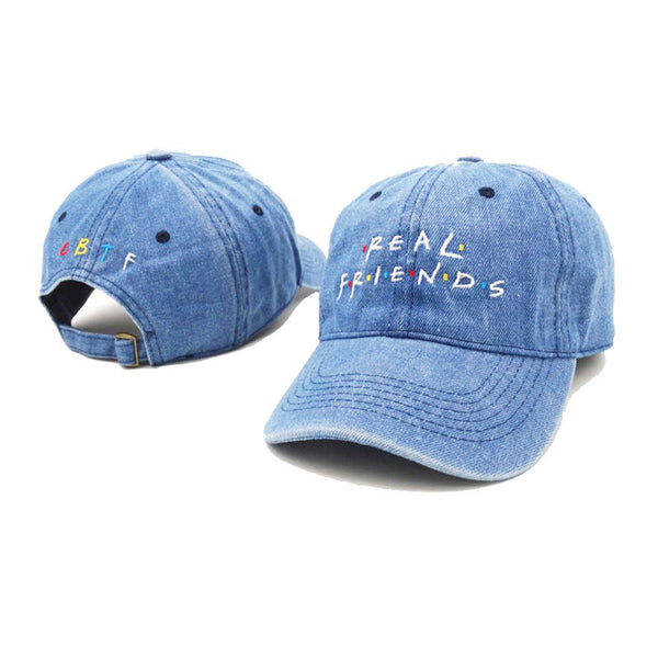 Real Friend Baseball Caps - Outdoorly