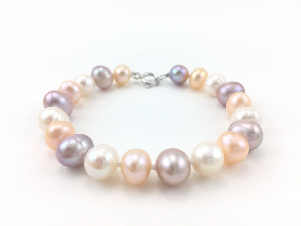 Freshwater Pearl Bracelet - Pick a Color