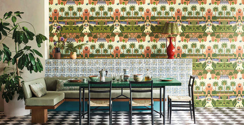 Alcazar Gardens by cole & son