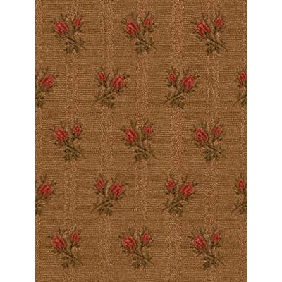 Robert Allen Fabric 081379 Petite Roses Saddle - Inside Stores