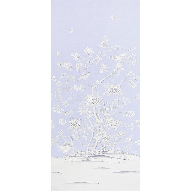 Schumacher Fabric 175046 Chinois Palais Lavender - Inside Stores