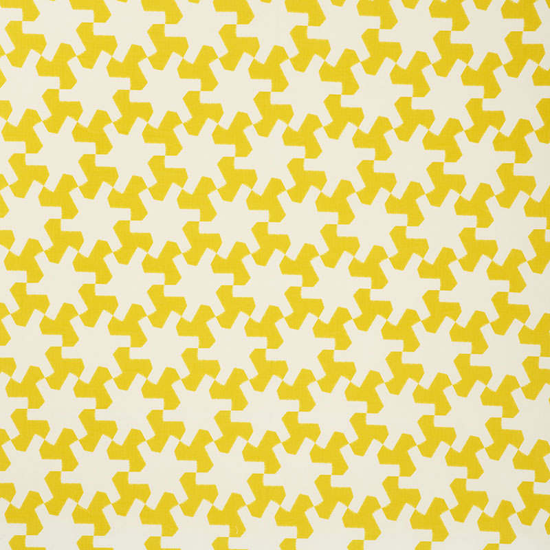 Schumacher Fabric 176610 Setareh II Yellow