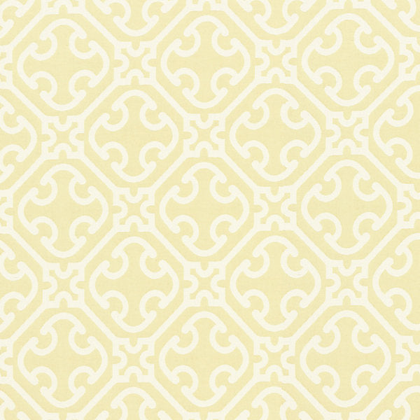 Scalamandre Fabric 27214-002 Ailin Lattice Weave Canary - Inside Stores