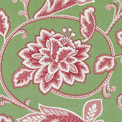Robert Allen Fabric 296523 DE42574 700 Pink/Green - Inside Stores
