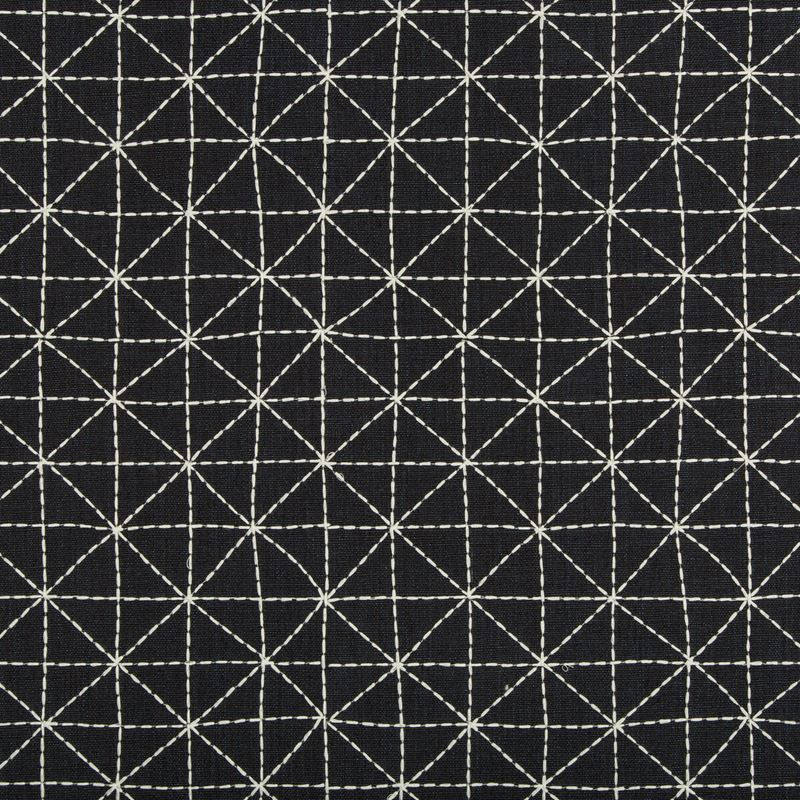 Kravet Design Fabric 35380.8 Appointed Ink - Inside Stores