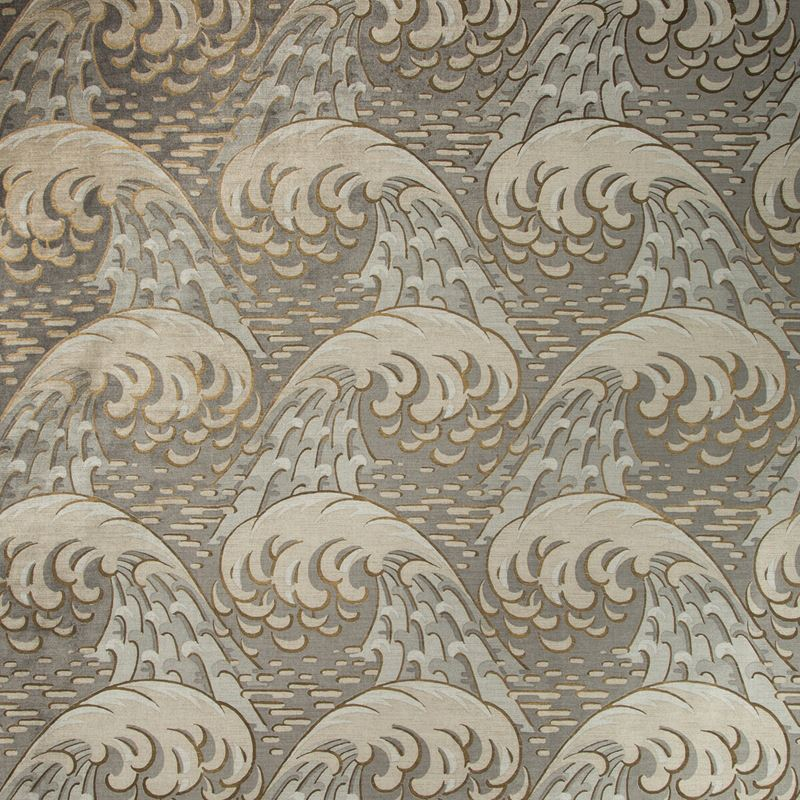 Kravet Couture Fabric 35419.411 Kaiyou Pewter - Inside Stores