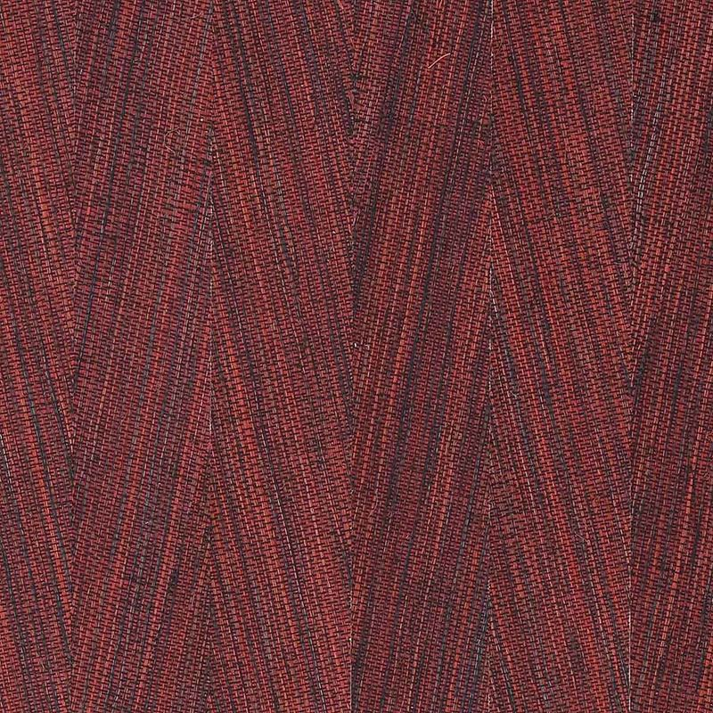 Phillip Jeffries Wallpaper 4871 Peak Chic Kabuki Red - Inside Stores