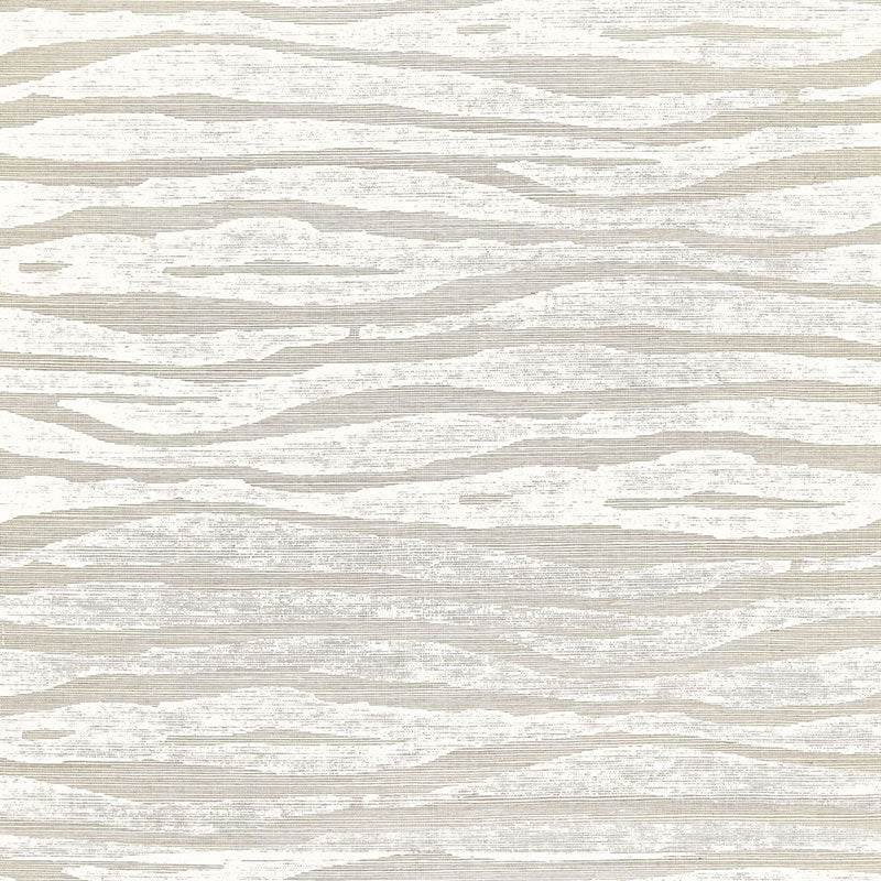 Schumacher Wallpaper 5006133 Ripple Fog & Chalk - Inside Stores