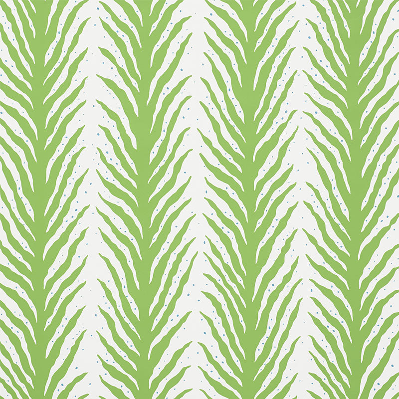 Schumacher Wallpaper 5009450 Creeping Fern Moss - Inside Stores