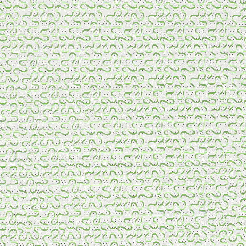 Schumacher Wallpaper 5009471 Meander Moss - Inside Stores