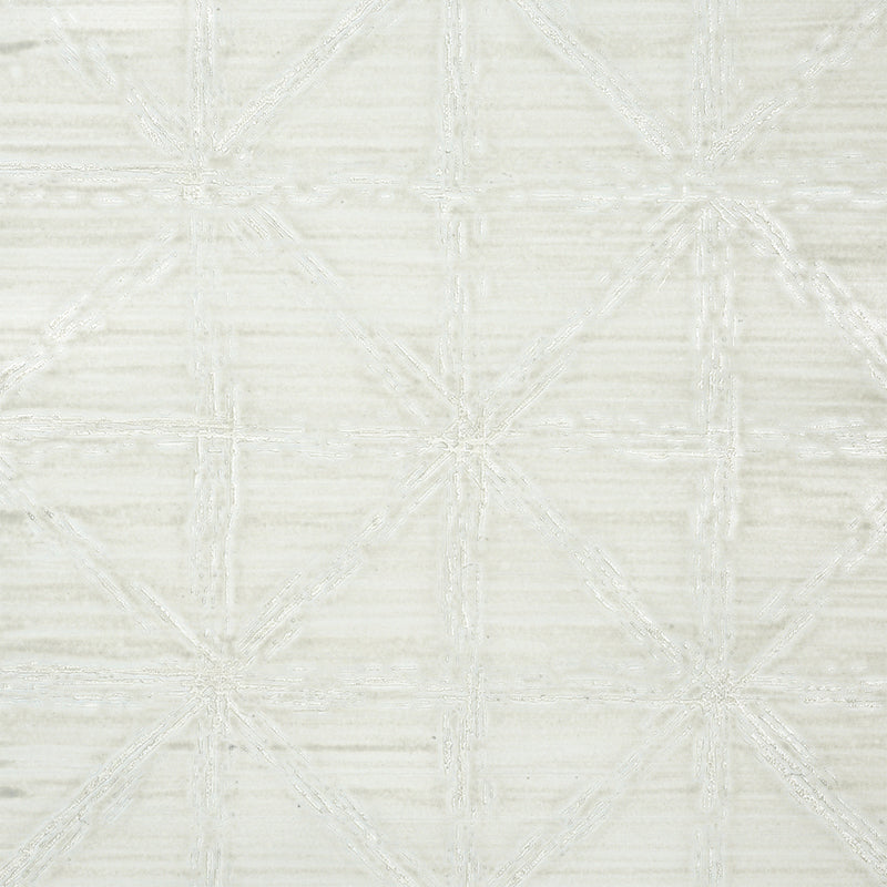 Schumacher Wallpaper 5010750 Aventurine Performance Silver - Inside Stores