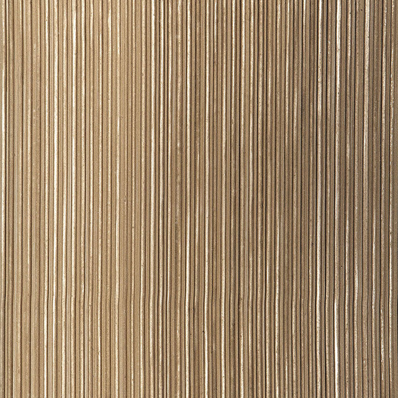 Schumacher Wallpaper 529906 Rimini Rib Sable - Inside Stores