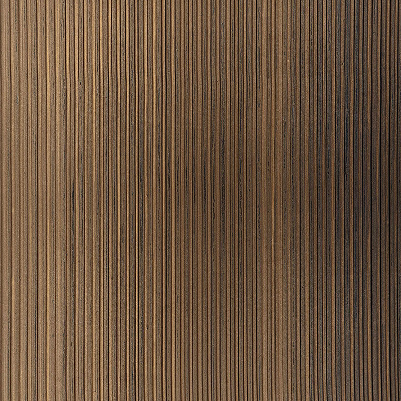 Schumacher Wallpaper 529907 Rimini Rib Burnished Bronze - Inside Stores