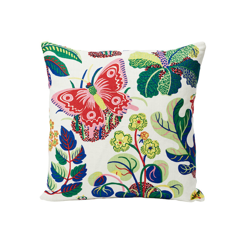 "Exotic Butterfly  18"" Pillow by Schumacher"
