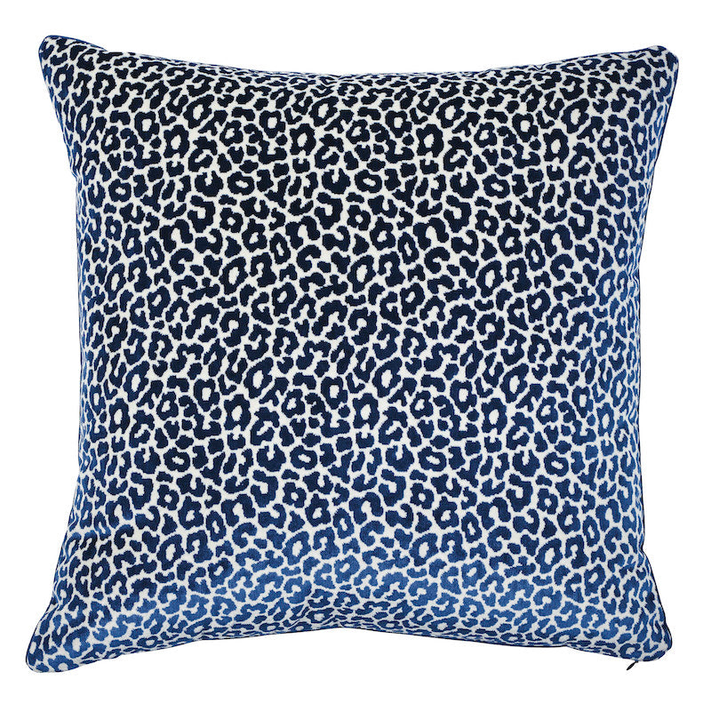 "Madeleine Velvet 22"" Pillow by Schumacher"
