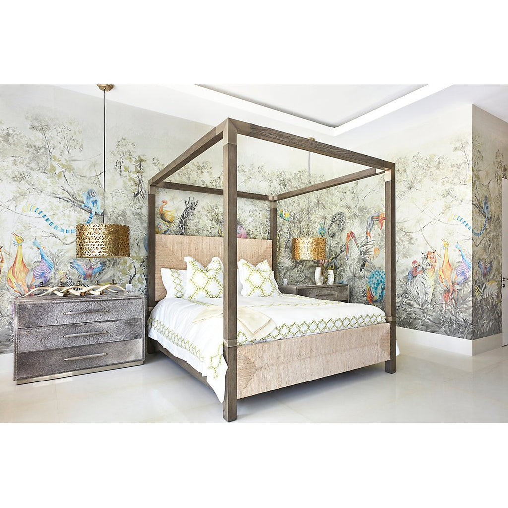 Scalamandre Wallpaper ARCADIA MURAL - 8 PANEL SET MULTICOLOR WNM SET1 ARCA