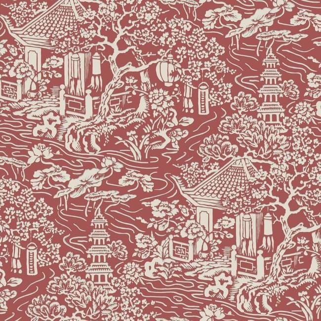 York Wallpaper AF6576 Chinoiserie - Inside Stores