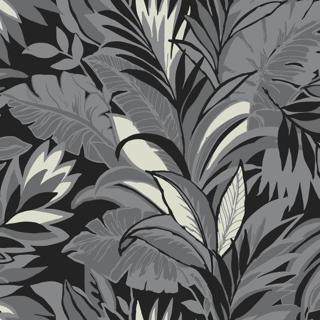 York Wallpaper CY1568 Palm Silhouette - Inside Stores