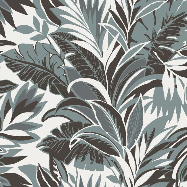 York Wallpaper CY1569 Palm Silhouette - Inside Stores