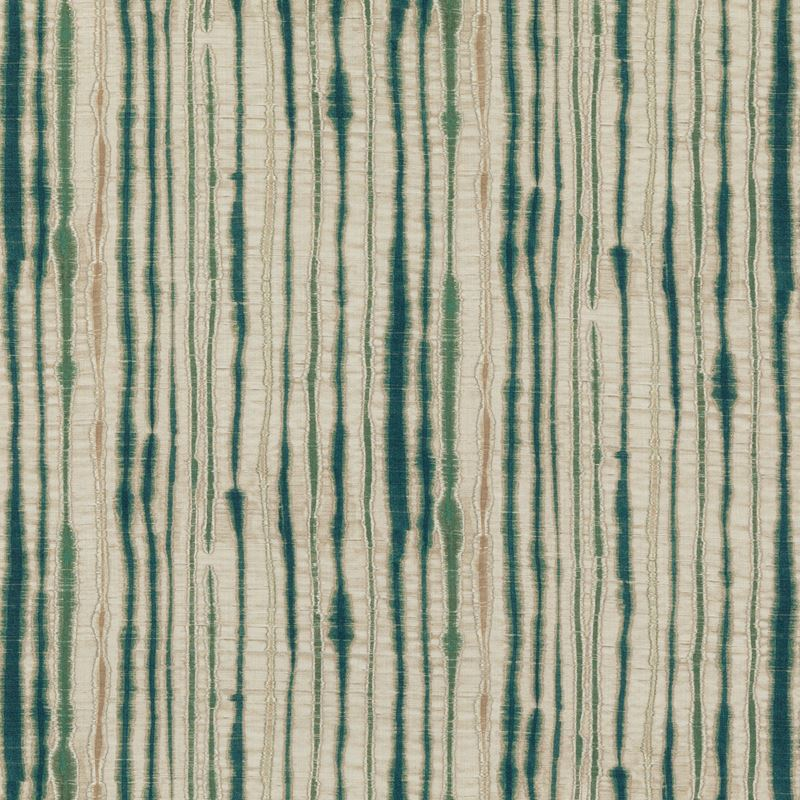Threads Fabric ED75038.4 Linear Teal - Inside Stores