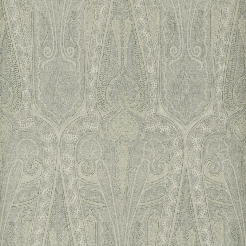 Mulberry Wallpaper FG074.H54 Troika Paisley Slate Blue - Inside Stores