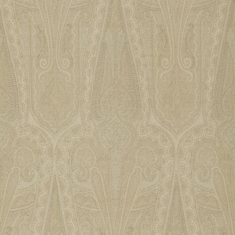 Mulberry Wallpaper FG074.N102 Troika Paisley Sand - Inside Stores