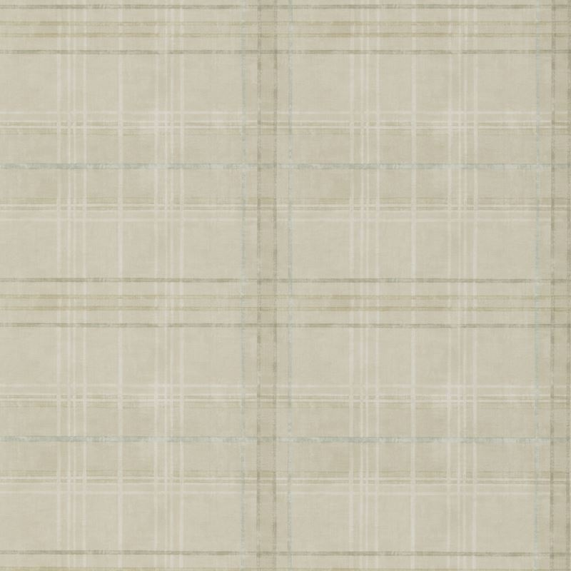 Mulberry Wallpaper FG086.K102 Shetland Plaid Stone - Inside Stores
