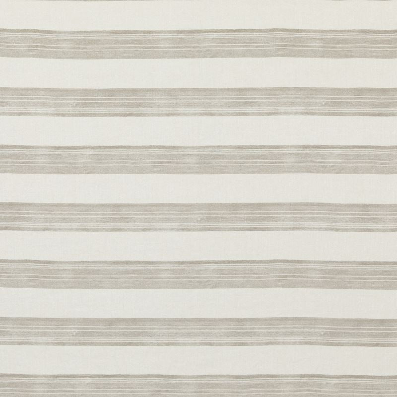 Groundworks Fabric GWF-3724.116 Askew Ivory/Taupe