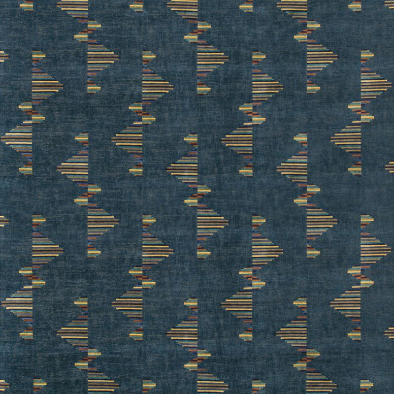 Groundworks Fabric GWF-3758.354 Arcade Marlin