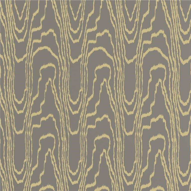 Groundworks Wallpaper GWP-3307.411 Agate Paper Taupe/Gold