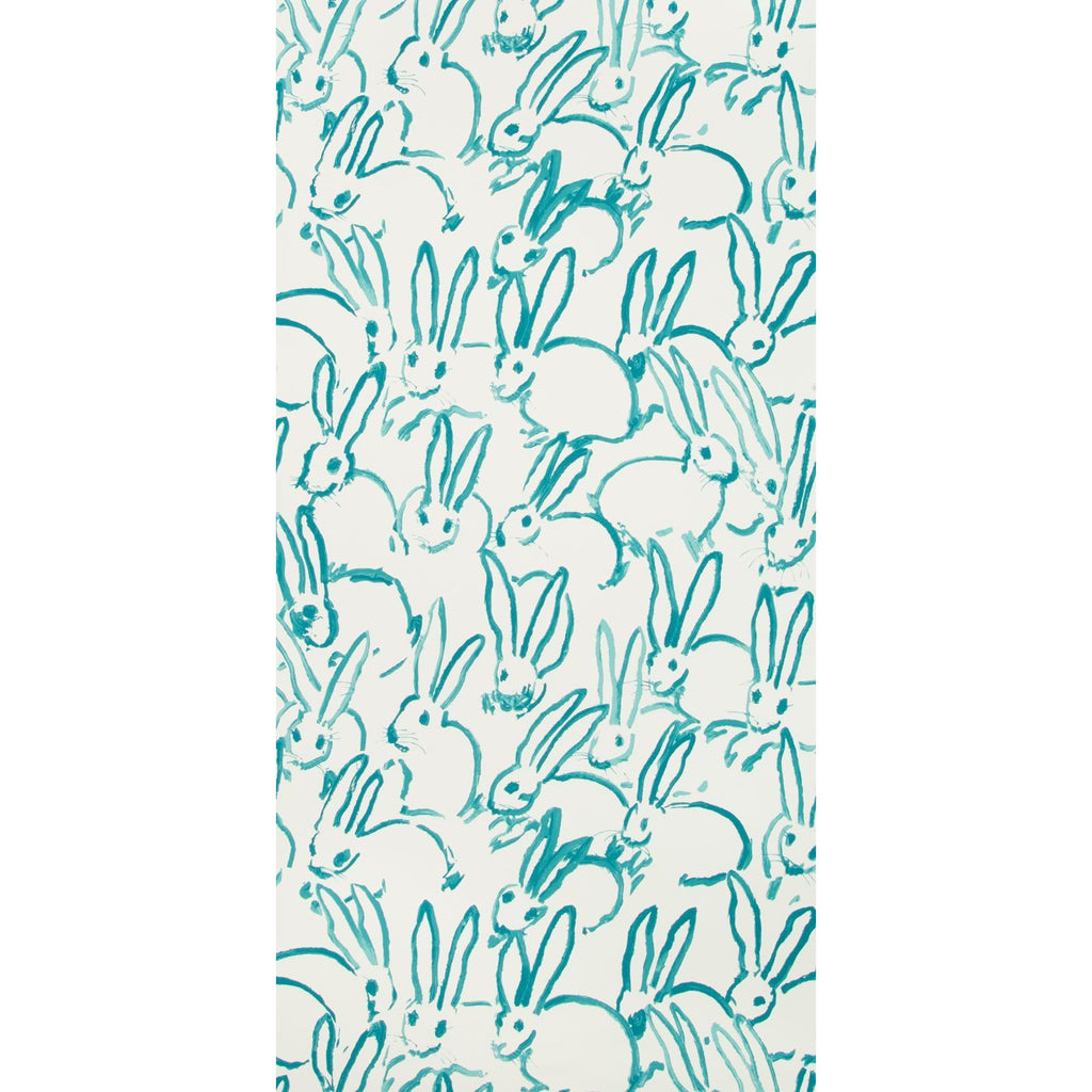 Groundworks Wallpaper GWP-3413.13 Hutch Turquoise - Inside Stores