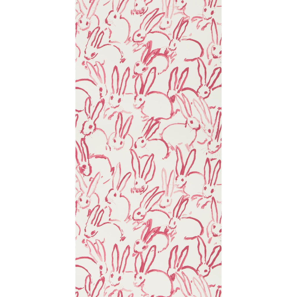 Groundworks Wallpaper GWP-3413.7 Hutch Ivory/Pink - Inside Stores