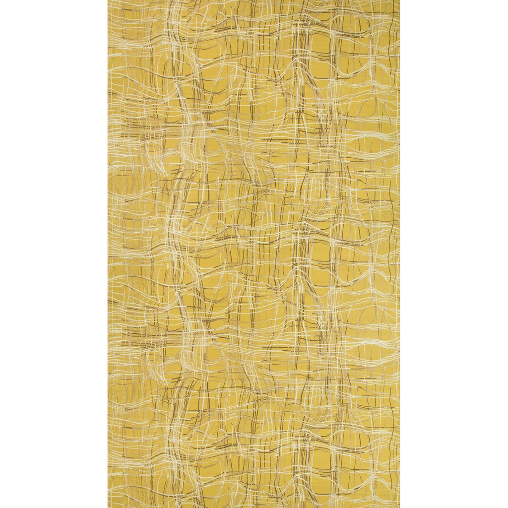 Groundworks Wallpaper GWP-3716.406 Entangle Paper Mustard - Inside Stores